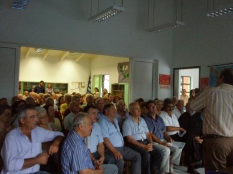 Ενημερωτική Εκδήλωση στο Λεόντιο Ερυμάνθου  με θέμα «Αγγειακά Εγκεφαλικά Επεισόδια»